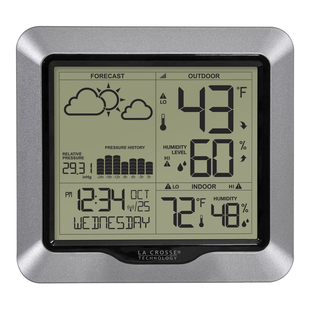 308-1417V2 Weather Station with Forecast and Atomic Time