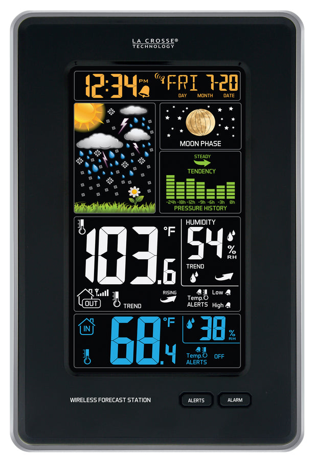 308-1425BV2 Wireless Color Forecast Station