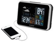 308-145B Wireless Color Weather Station with USB Charging