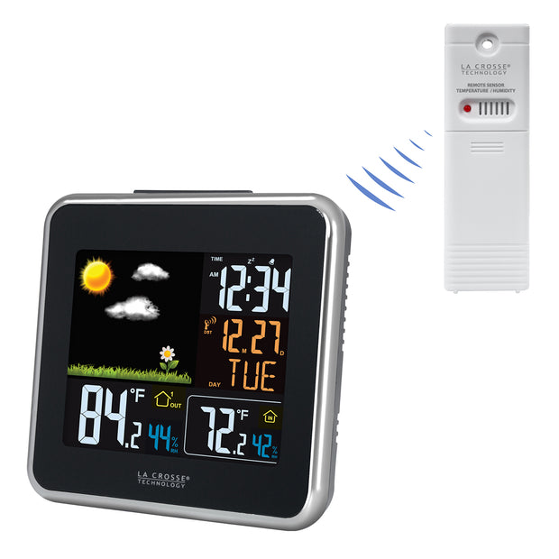 308-146 Wireless Atomic Color Weather Station with USB Charging