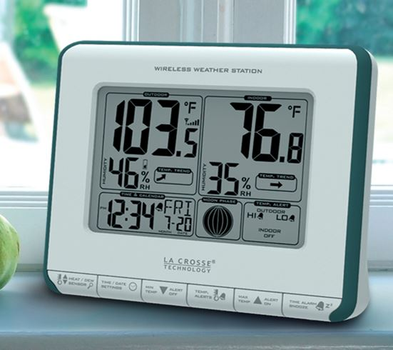 308-1711BLV2 Wireless Weather Station