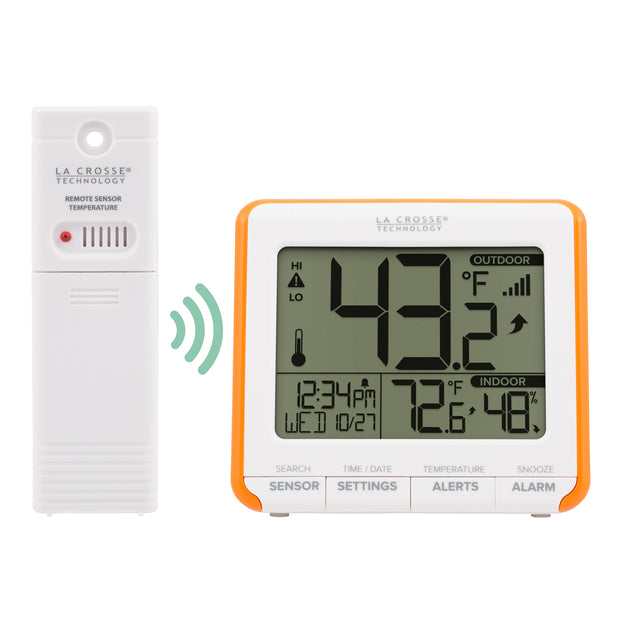 308-179ORV2 Wireless Thermometer with Indoor Humidity