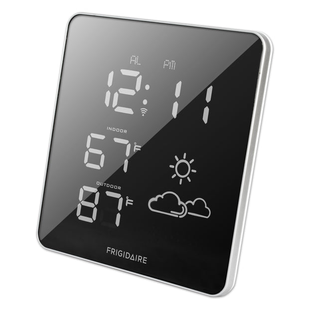 308-2414FR White Square LED Weather Station