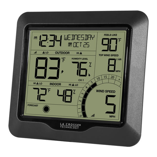 327-1417BW Wind Speed Weather Station