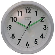 403-310 10 inch Wall Clock with Glowing Hands