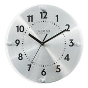 404-3725 10 in. Orion Metal Wall Clock