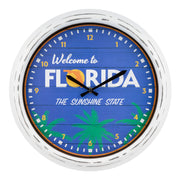 404-3840FL Indoor/Outdoor Wall Clock