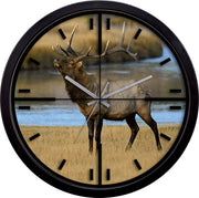 407-714A 14 inch Wall Clock with Cross Hairs