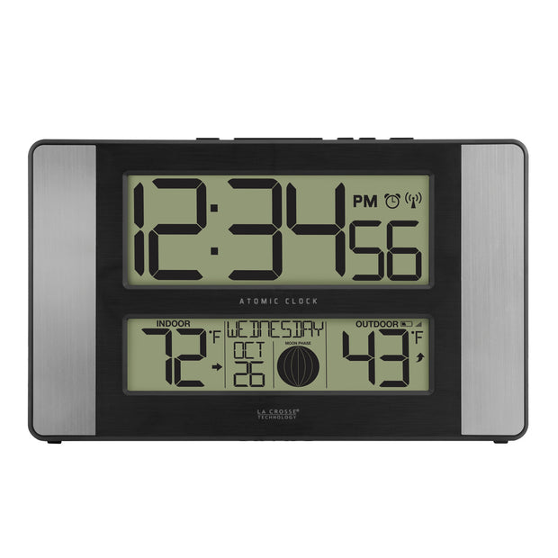 513-1417ALV4 Atomic Digital Wall Clock