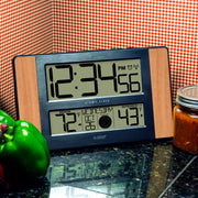 513-1417V2 Atomic Digital Wall Clock