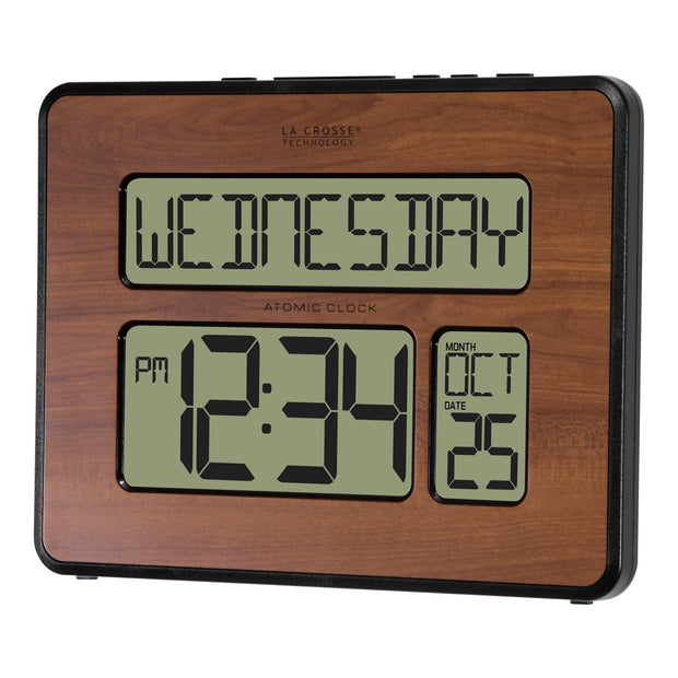 513-1419-WAV4 Atomic Digital Wall Clock