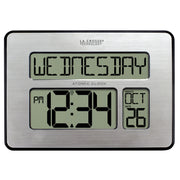 C86279 Atomic Digital Wall Clock with Backlight