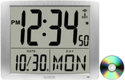 515-1316 Jumbo Digits Atomic Wall Clock