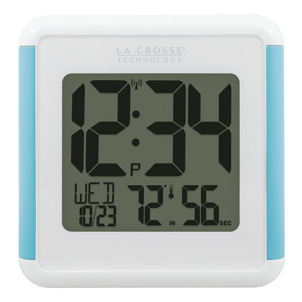 515-1912 Shower Cube Atomic Digital Wall Clock