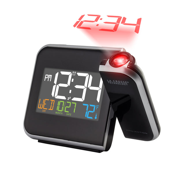 W85923V3 Projection Alarm Clock with Indoor Temperature