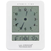 617-1392W Atomic Digital Analog Style Alarm Clock