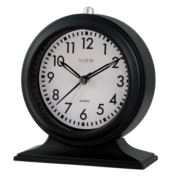 617-3014 5.7 in Decorative Tabletop Alarm Clock
