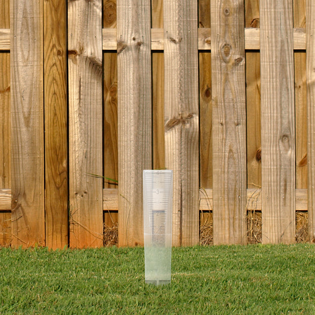 704-1518 10 in Plastic Rain Gauge
