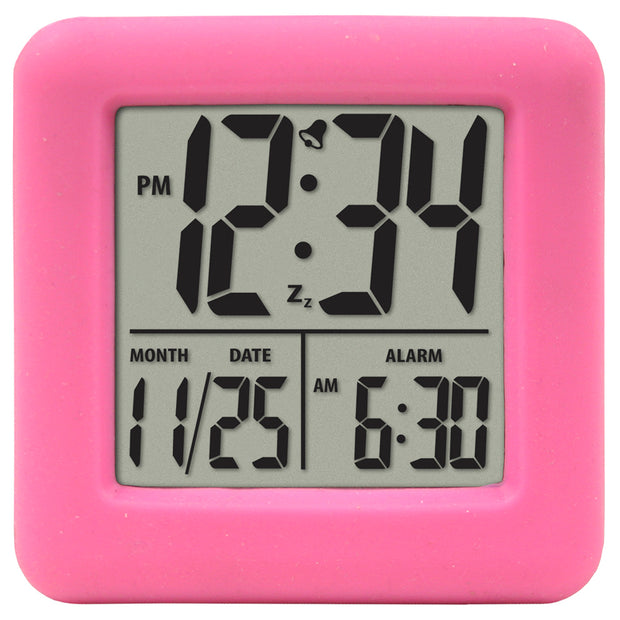 70909AST Variety Pack - Soft Cube LCD Alarm Clocks