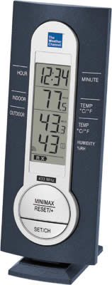 WS-7220TWC-IT  Wireless Weather Station with Time