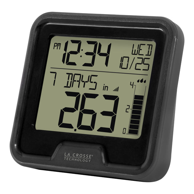 T84237 Digital Rain Gauge with Indoor Temperature
