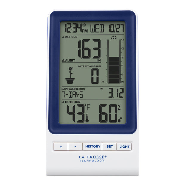 724-1415BL Digital Rain Gauge