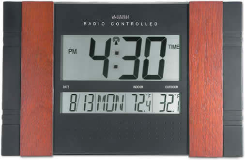 WS-8011UM Atomic Digital Wall Clock