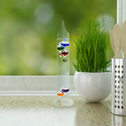 914-1828 11 in. Galileo Thermometer
