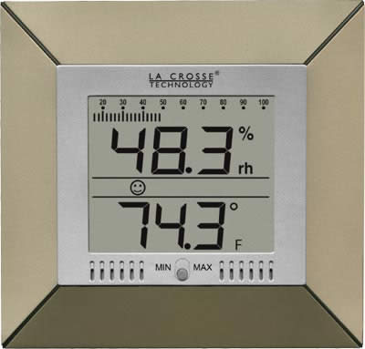 WS-9410U Indoor Temperature and Humidity with Bar Graph
