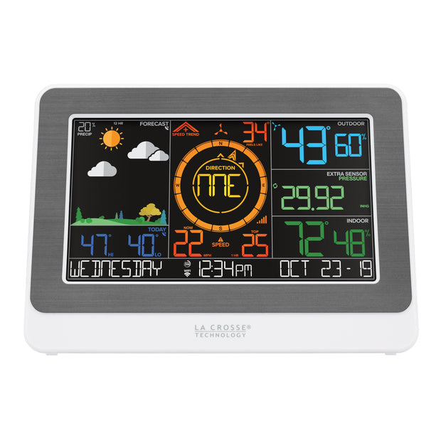328-47577 WiFi Weather Station with Wind and Rain