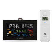 VA1 Wi-Fi Projection Alarm Clock with Outdoor Temp and Humidity