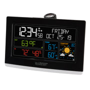 C82929-UK WiFi Projection Alarm Clock with AccuWeather