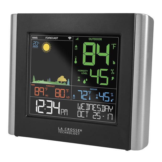 V10-TH Remote Monitoring Color Weather Station