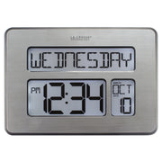 C86279V4 Atomic Digital Wall Clock with Backlight