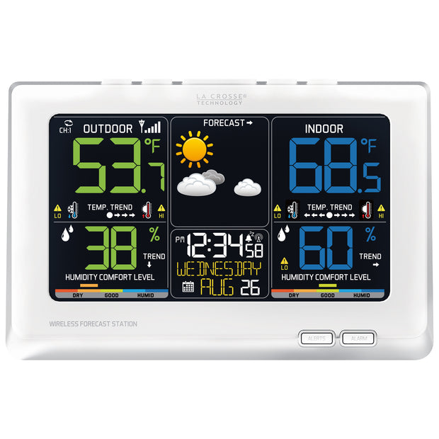 C87030 Wireless Color Weather Station