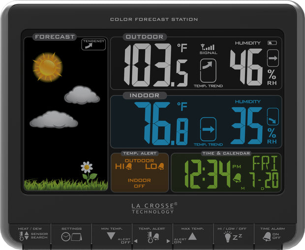 K84308 Wireless Color Forecast Station