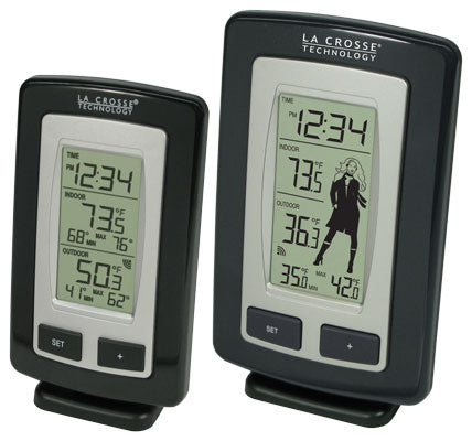 WS-9760U-IT and WS-9240U-IT Wireless Temperature Station Combo