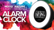C83117-AU Mood Light and Nature Sound Alarm Clock