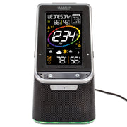 S86842 Wireless Weather Station with Bluetooth Speaker and Atomic Time and Date