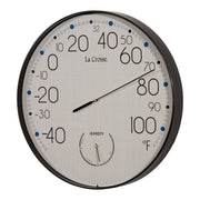 T88495 10 inch Indoor/Outdoor Thermometer and Hygrometer
