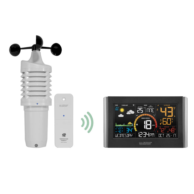 V21-WTHV2 Complete Personal Wireless Remote Monitoring Wind Station