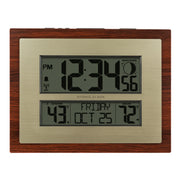 W86111V2 Atomic Digital Wall Clock with Moon Phase