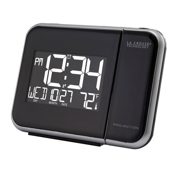 W85923V2 Projection Alarm Clock with Indoor Temperature