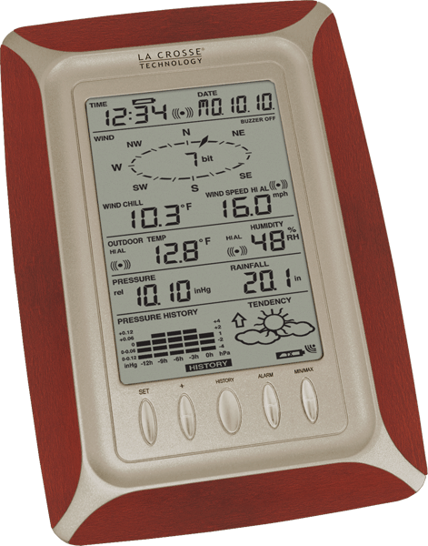 WS-1612CH-IT Complete Personal Weather Center