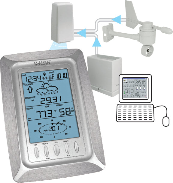 WS-2308 Weather Pro Center