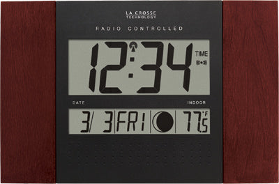 WS-8007U Atomic Digital Wall Clock