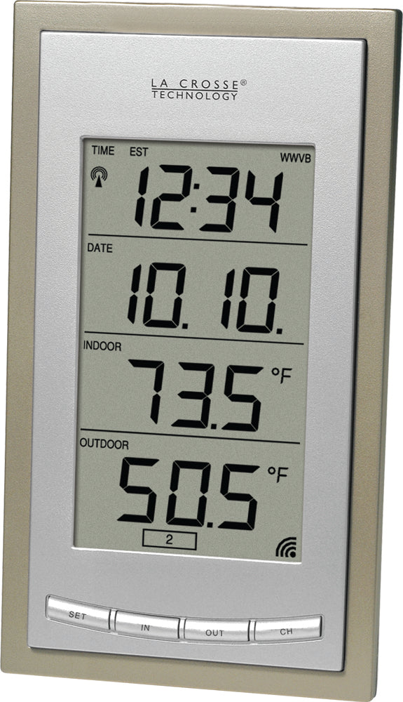 WS-9013U Wireless Temperature Station with Date