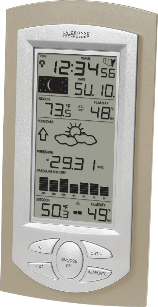 WS-9032U Wireless Forecast Station with Pressure History