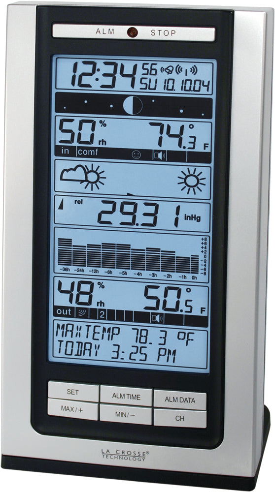 WS-9119U Intelligent Forecast Station Predicts Weather Events