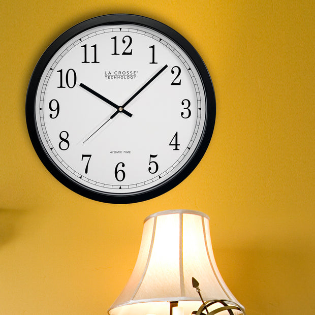 WT-3143AX1 14 inch Atomic Wall Clock